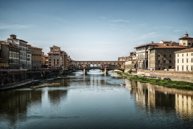 Мост понте веккио во флоренции