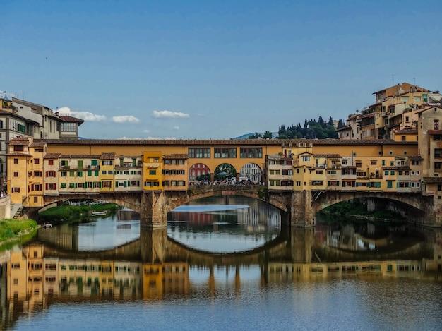 Ponte vecchio , florence, italy