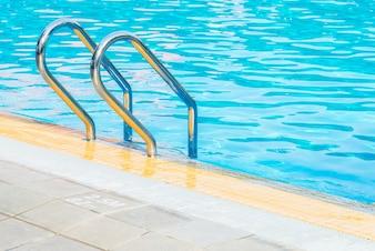 Pool nobody clean sport stair