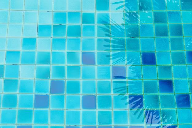 Sfondo dell'acqua della piscina