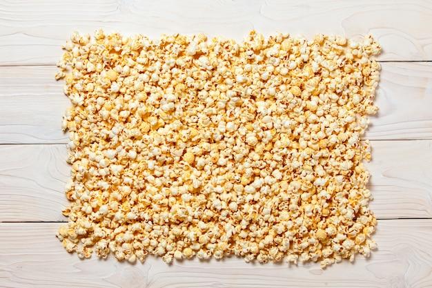 Popcorn bokeh background texture