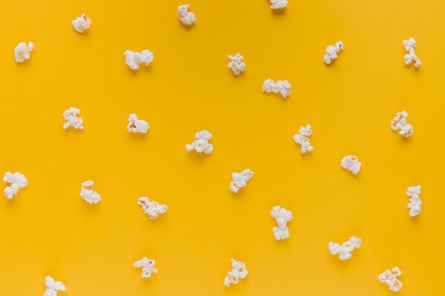 Popcorn box with cinema tickets