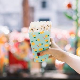 Scatola di popcorn