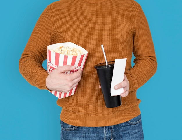 Попкорн напитки сода кинотеатр театр развлечения