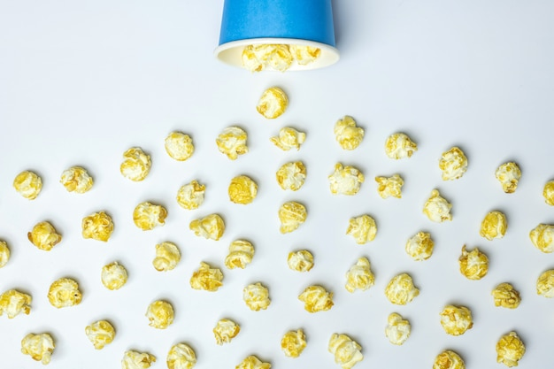 Popcorn spill concep