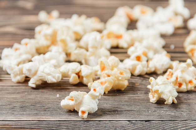 Popcorn texture background unhealthy food
