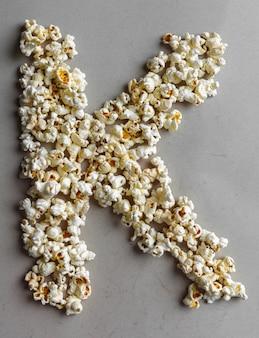 Popcorn алфавит, изолированный