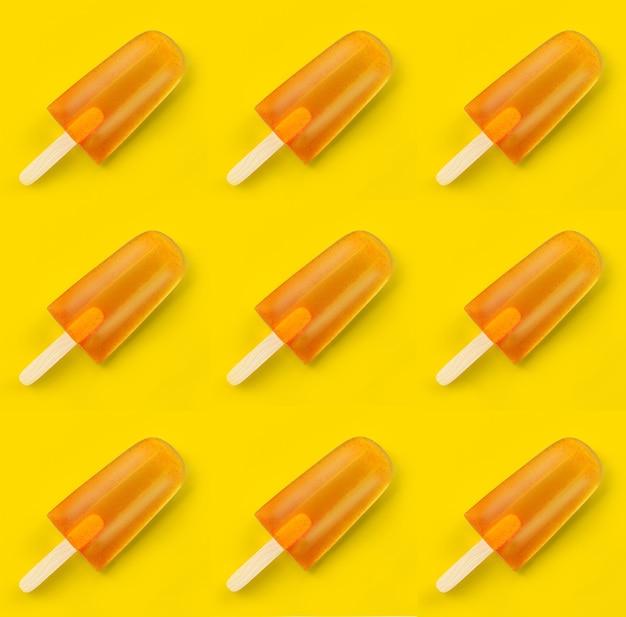 아이스 아이스 아이스 디저트 달게 하는 맛 있는 개념 여름 아이스 캔디