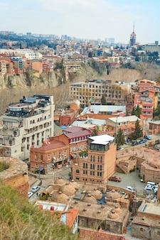 Popular city landmark in tbilisi