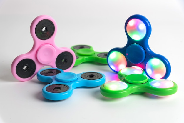 Popular fidget spinner toy