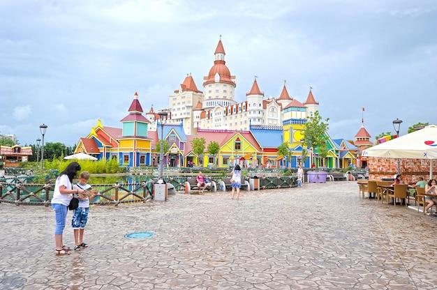 Popular russian theme park