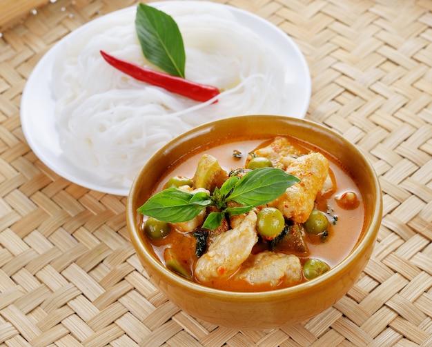 Pork curry , thai cuisine