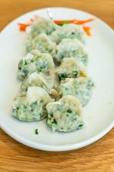 中華風野菜の餃子