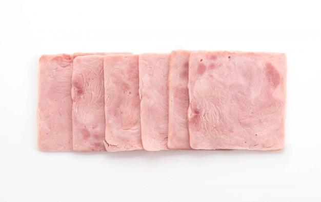돼지 고기 햄
