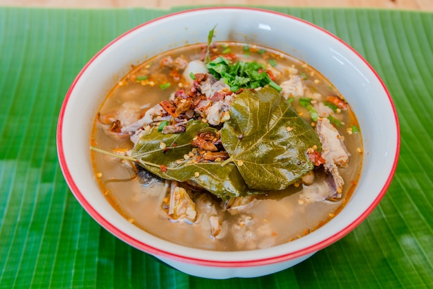 Pork spicy hot and vegetable