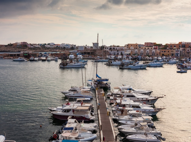 Port of lampedusa