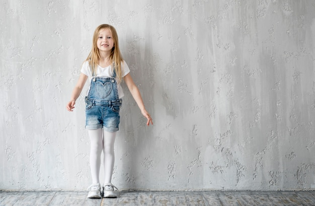 Portait little girl