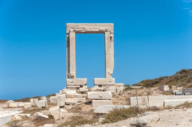 Portara of naxos