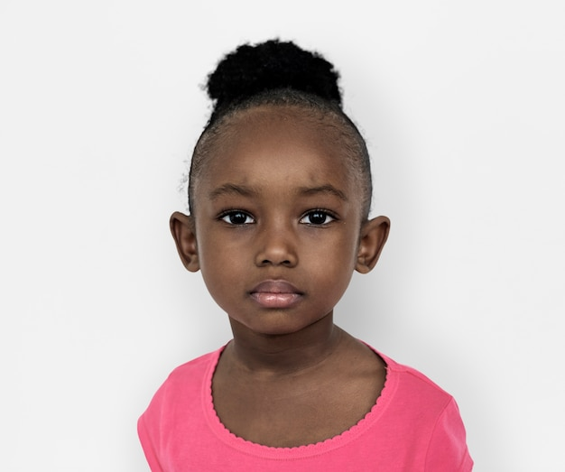 Portarit of a young african american girl