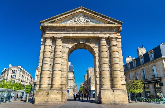 ボルドーの18世紀の門、ポルトダキテーヌ-フランス
