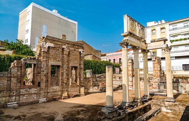 스페인 메리다에 있는 로마 포럼의 포르티코
