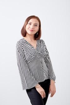 Portrait asian young woman business