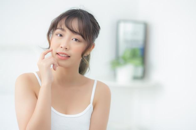 Portrait beautiful asian woman posing
