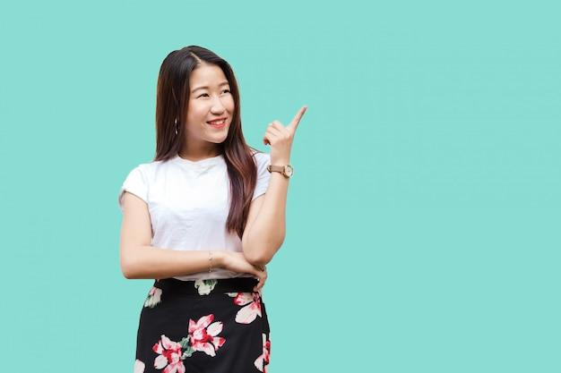 Portrait beautiful cute asian young girl