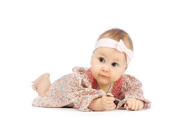 Portrait of beautiful little child