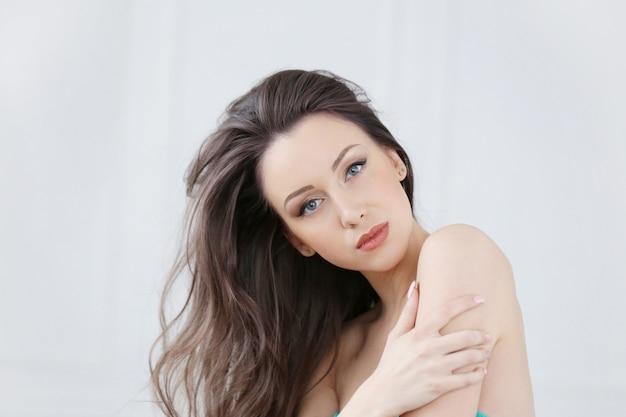 Portrait of beautiful woman