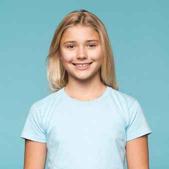 Portrait beautiful young girl