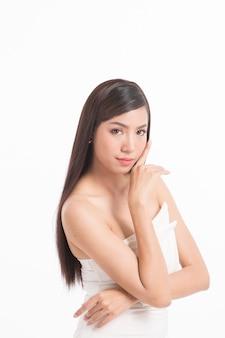 Portrait of beauty asian woman