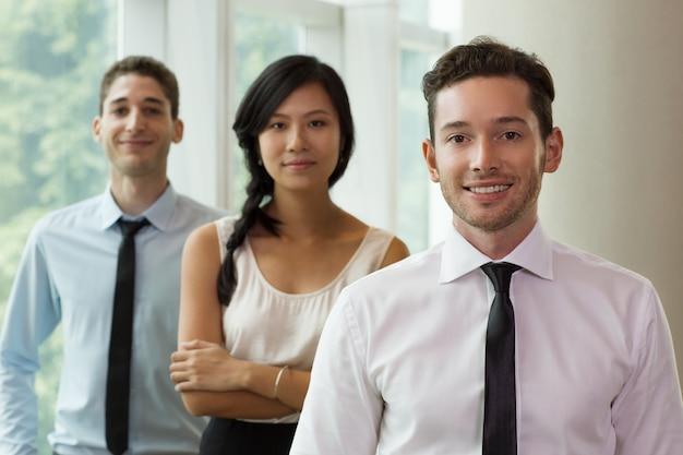 Portrait of business people in office 3
