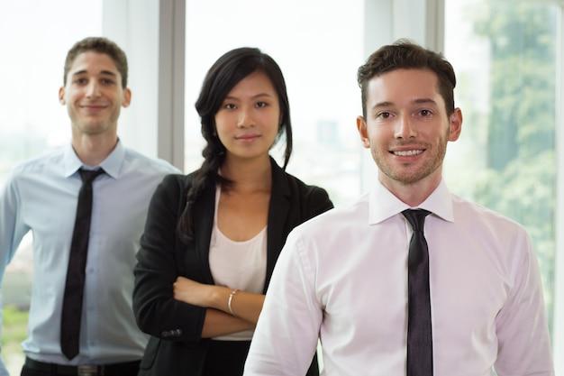 Portrait of business people in office 4