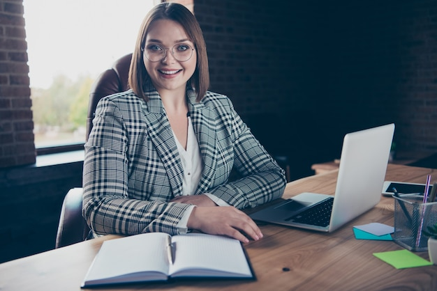 Portrait businesswoman at office