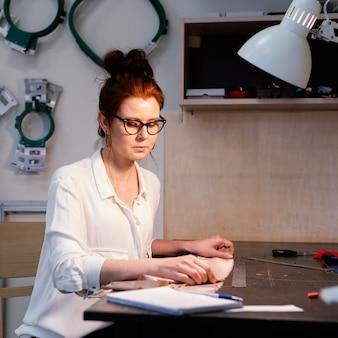 Портрет владельца бизнес-леди