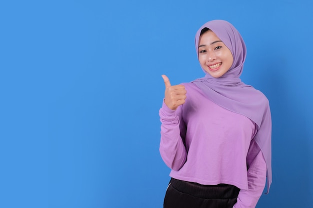 Portrait cheerful happy and nice expression using casual cloths