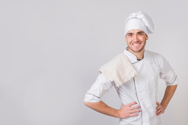 Portrait of chef