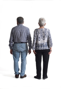 Portrait of a couple full body