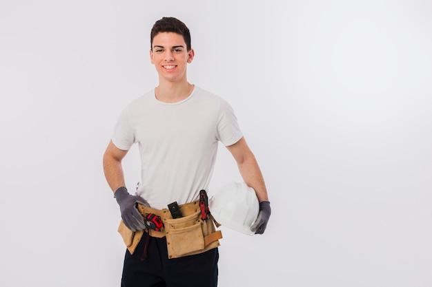 Portrait of craftsman