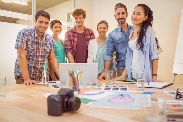 Portrait of a creative team