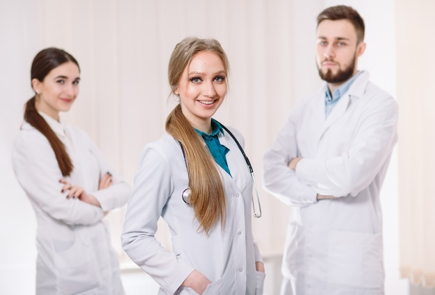 Portrait of doctors.