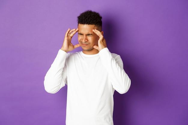 Портрет выразительного молодого человека