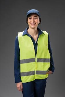 肖像画の女性エンジニア