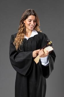 Portrait female judge
