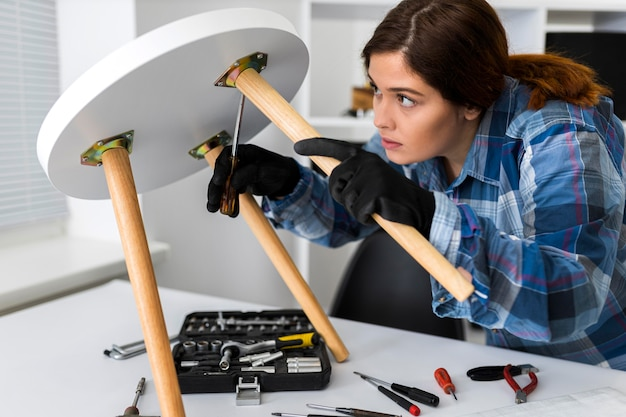Ritratto femminile di lavoro