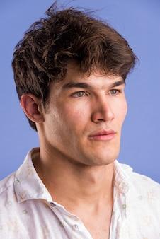 Portrait of handsome man