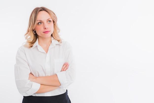Portrait of lawyer woman
