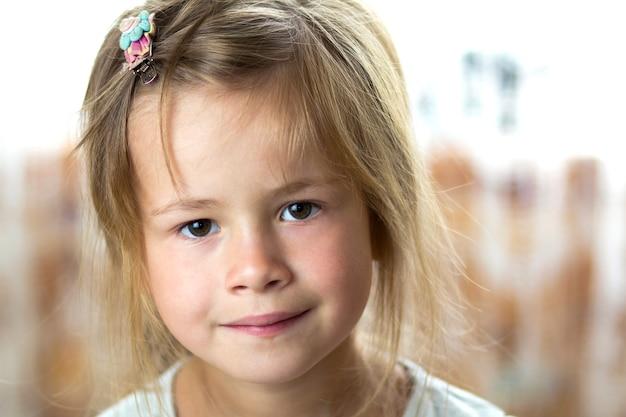 Portrait of little child girl