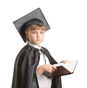 Portrait of little judge